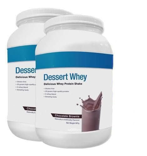 Kit 2x Dessert Whey 907g Cada - Ultimate Nutrition