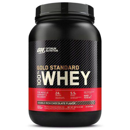 Whey Protein 100% Gold Standard - 909g (2lbs) - Optimum Nutrition
