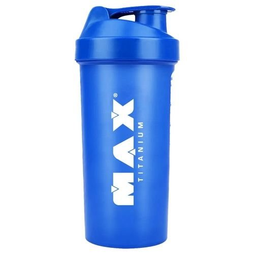 Coqueteleira Azul 600ml Max Titanium