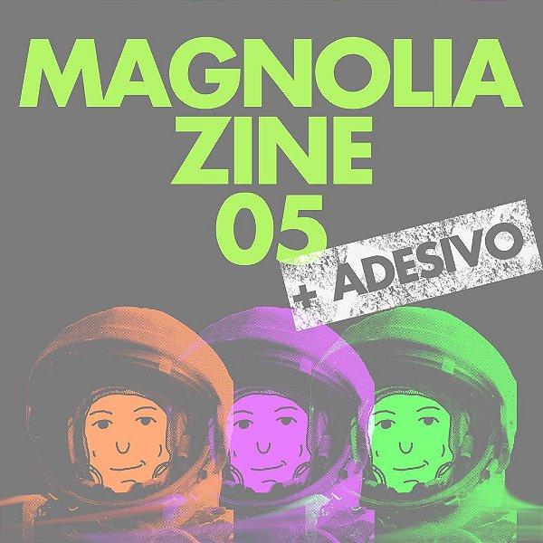 Magnolia Zine (número 05) + adesivo