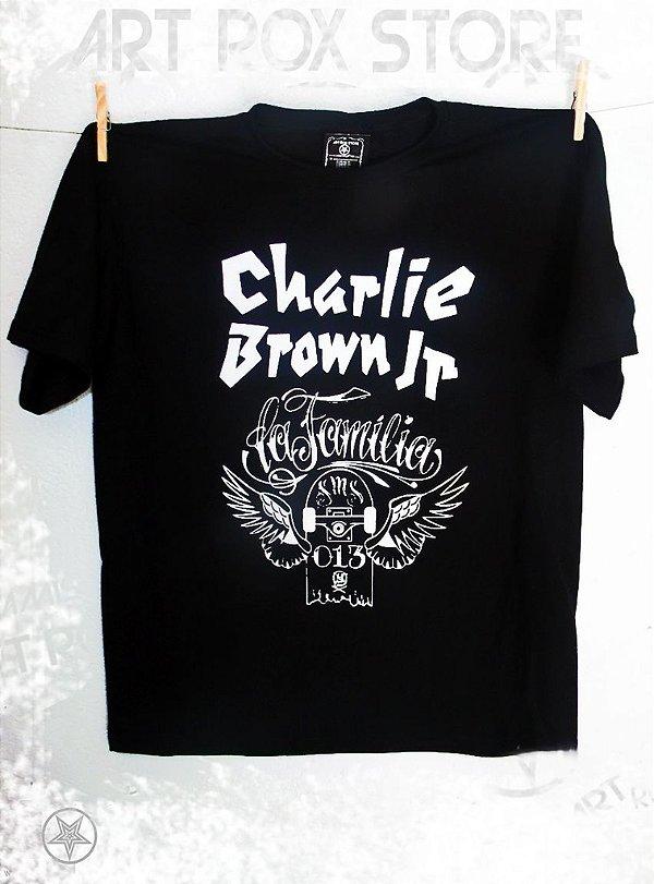 CAMISETA CHARLIE BROWN JR - LA FAMÍLIA