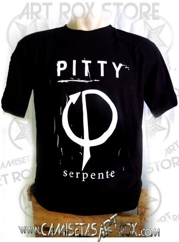 CAMISETA PITTY - SERPENTE