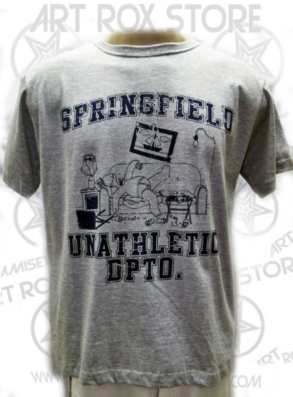 CAMISETA SIMPSONS - SPRINGFIELD