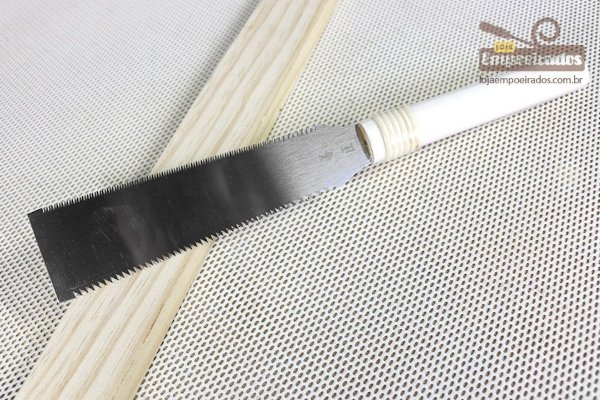 Serrote Ryoba Pequeno Saw Japonês Z-Saw - 180mm (Duplo Dente)