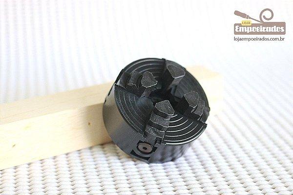 Placa de 4 Castanhas de Plástico para Micro Torno de Madeira Proxxon DB250 [27024]