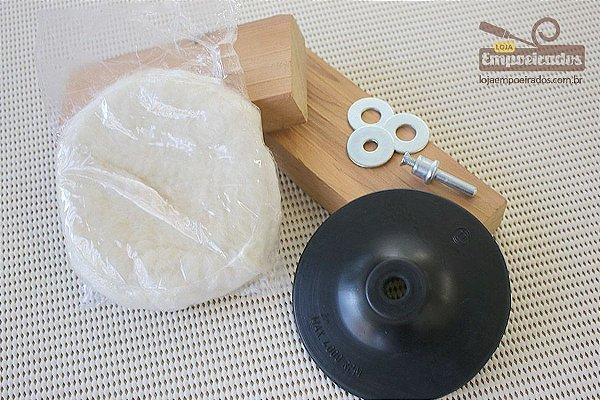 Conjunto para Polir com 3 peças para Furadeira - Bosch