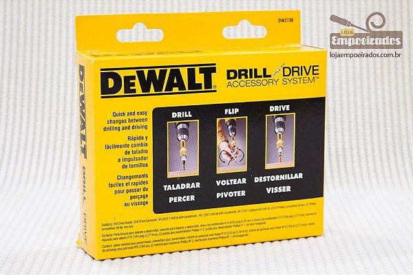 Jogo de 8 peças para parafusar troca rápida - DeWalt