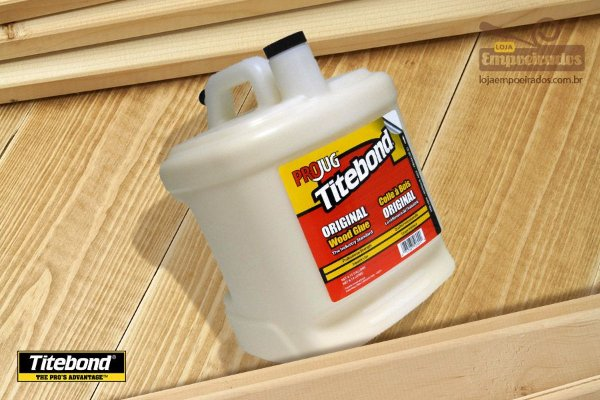 Cola para Madeira Titebond Original Wood Glue - 8,14 litros