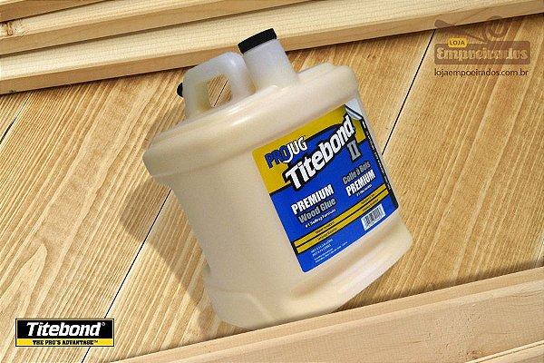 Cola para Madeira Titebond Premium Wood Glue - 8,14 litros
