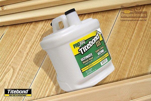 Cola para Madeira Titebond Ultimate Wood Glue - 8,14 litros
