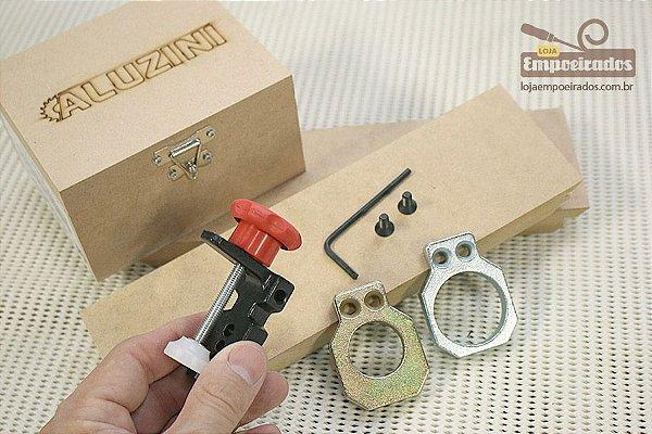 Gabarito para Dobradiças 26mm e 35mm Tipo Caneco - Aluzini Ferramentas