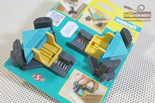 Gabarito 90 Graus de Plástico Kit com 2 peças - Wolfcraft [ES22]