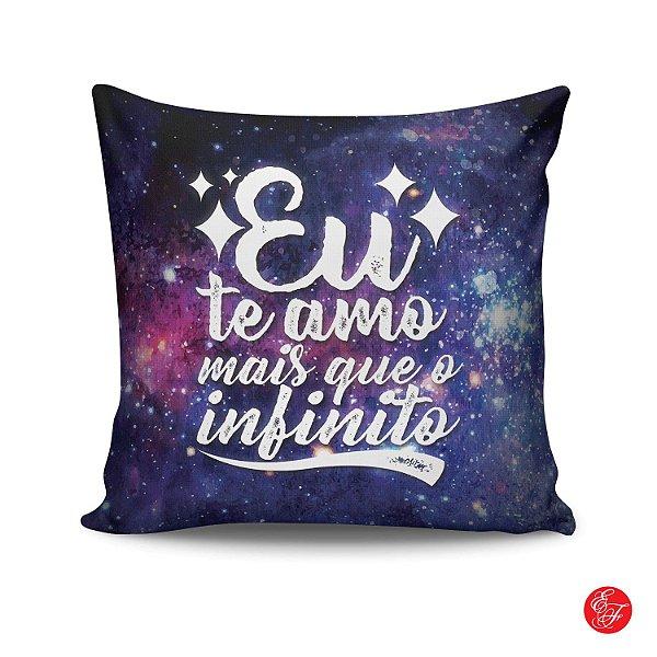 178b35228629e2 Almofada - Eu te amo mais que o infinito
