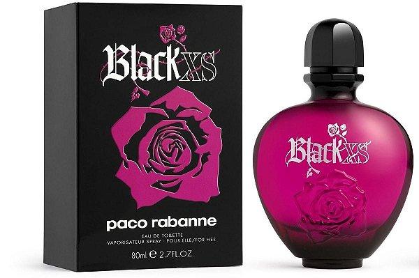 "PERFUMES IMPORTADOS ""BLACK XS "" PACO RABANNE, FEM. 80 ML . ORIGINAIS."