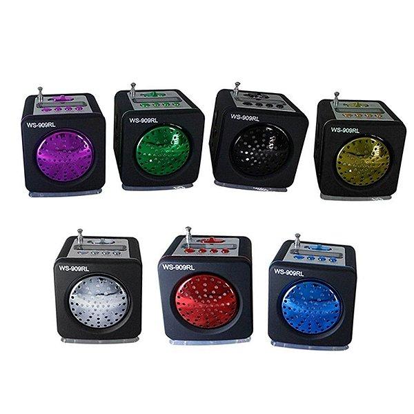 MINI MP3 SPEAKER SYSTEM  WS-909 RL - V E L U D O S -