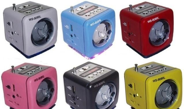 MINI MP3 SPEAKER SYSTEM  WS-908 RL