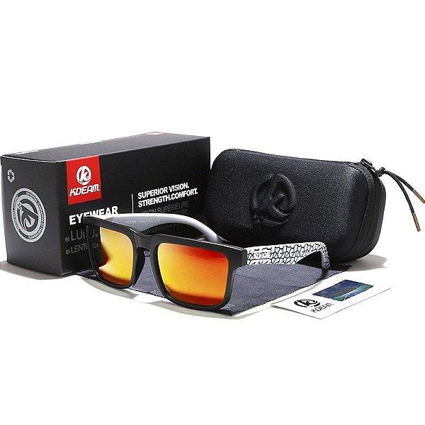 bf3862bd9 KDEAM Design Óculos Polarizados UV400 com caixa - Solução Imports ...