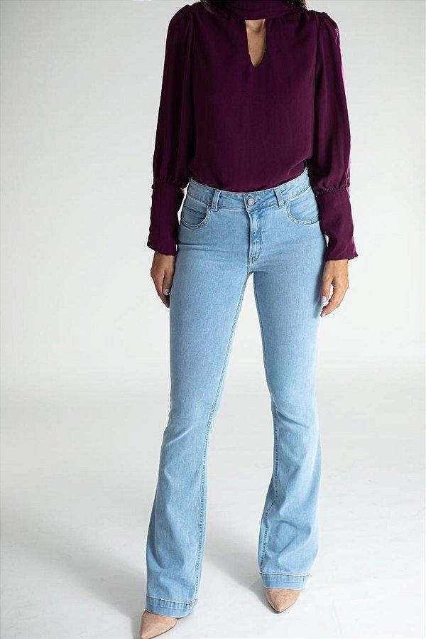 Calça Jeans Microflare - Atlanta