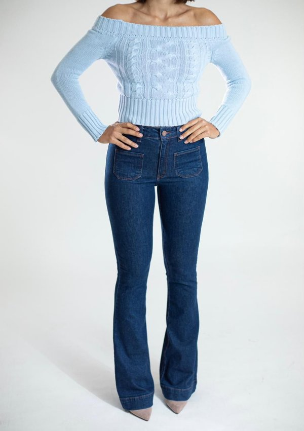 Calça Jeans Flare - Vitória