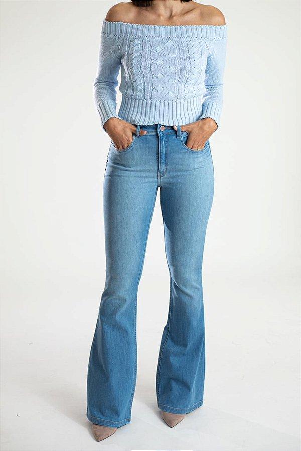 Calça Jeans Flare - Machu Picchu