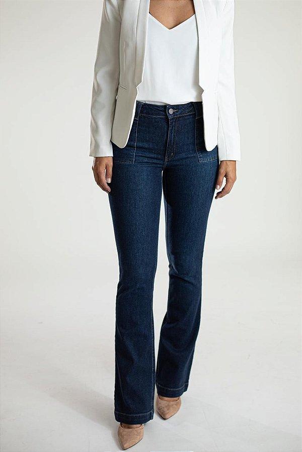 Calça Jeans Reta - Lima