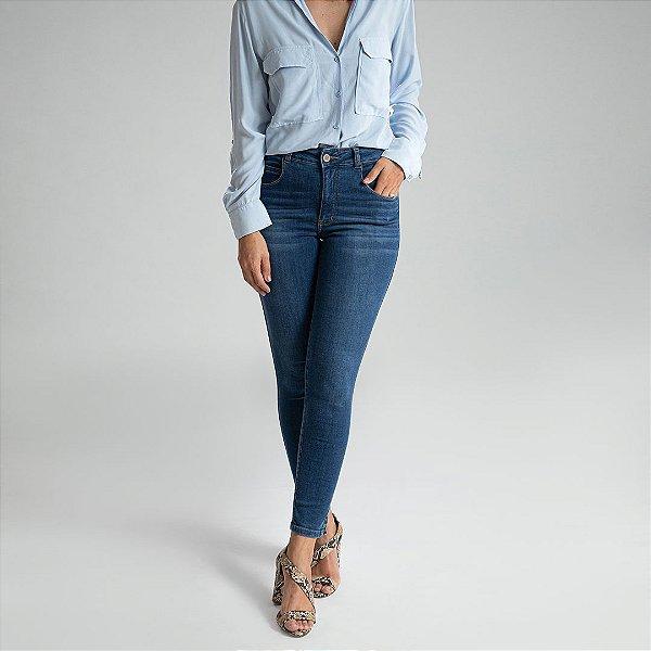 Calça Jeans Skinny Basic - Sicília - Santé Denim