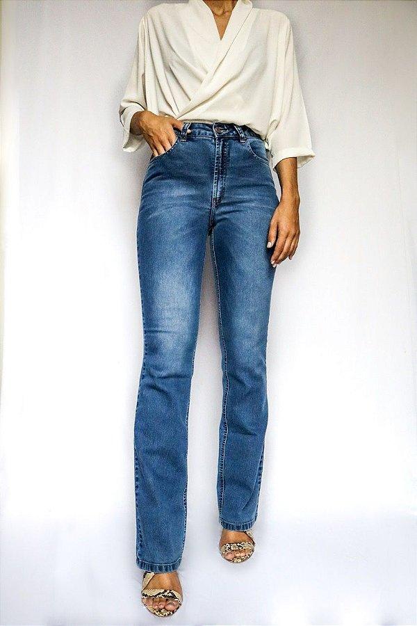 Calça Jeans Boot Cut  - Nimegue - Santé Denim