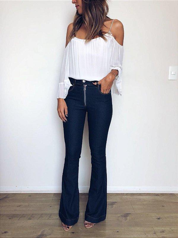 Calça Jeans Flare Vinco - Tilburgo - Santé Denim