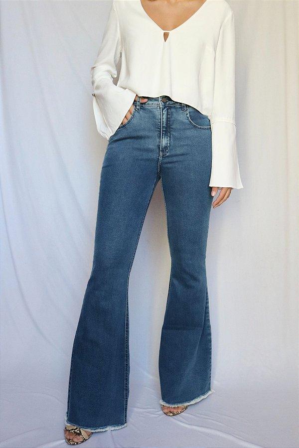 Calça Jeans Flare - Montreal - Santé Denim