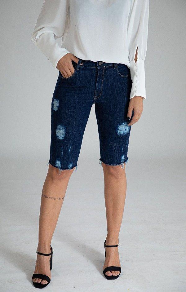 Bermuda Jeans Ciclista - Sintra - Santé Denim