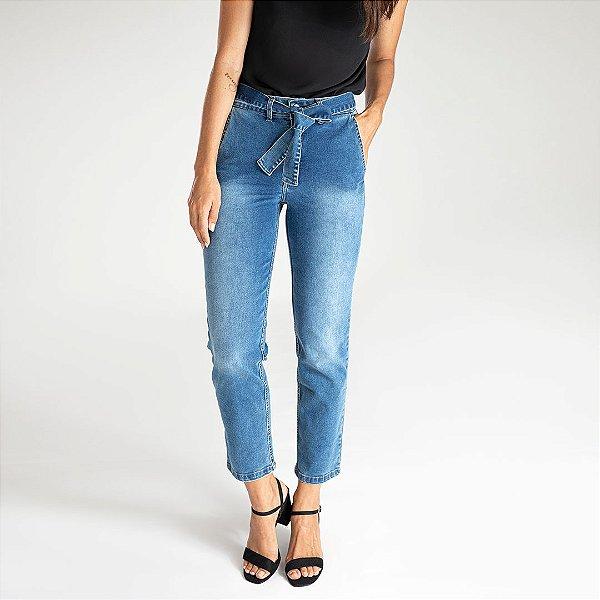 Calça Jeans Straight Leg - Brisbane - Santé Denim