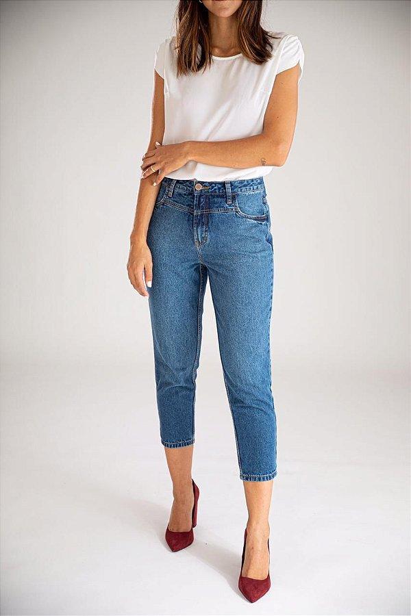 Calça Jeans Mom - Paros - Santé Denim