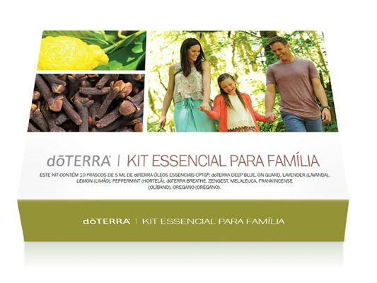 Kit Essencial para Família - 10un. 5ml - Indisponível, veja o kit living Brasil -