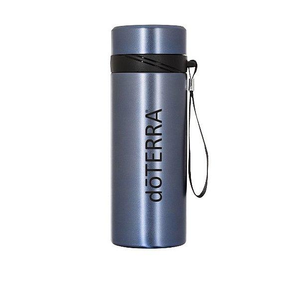 Garrafa Térmica COM LOGO DOTERRA em Inox 590 ml com infusor