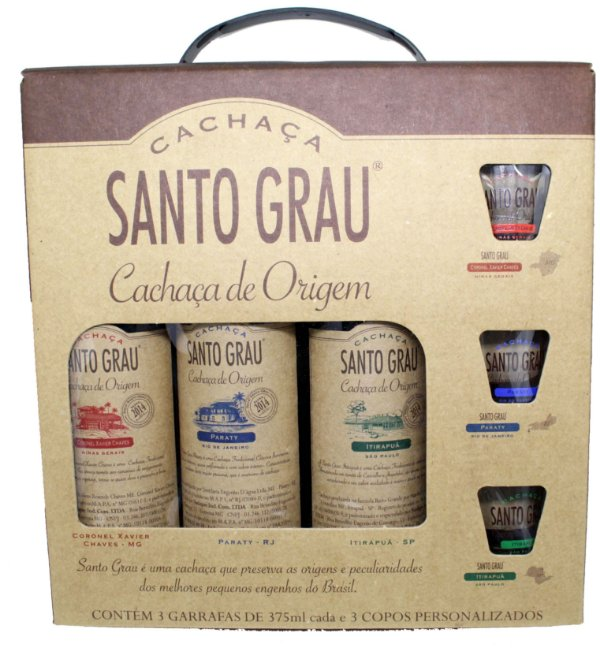 SANTO GRAU KIT C/3 375ML
