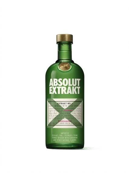 ABSOLUT EXTRACT APERITIVO SUECO 750ML