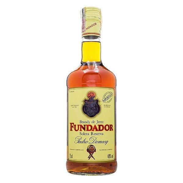 FUNDADOR BRANDY DE JEREZ ESPANHOL 750ML
