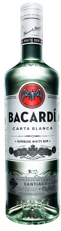 BACARDI CARTA BLANCA 980ML