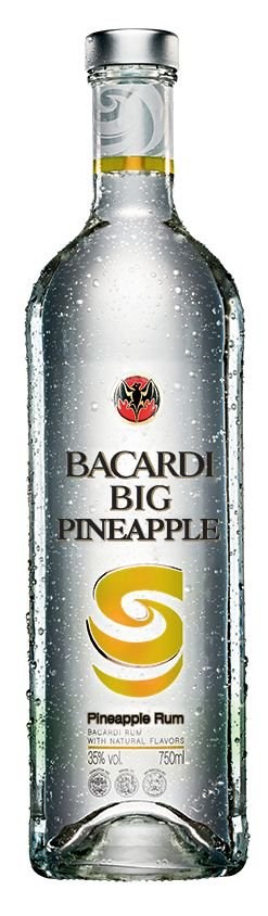 BACARDI BIG PINEAPPLE 750ML