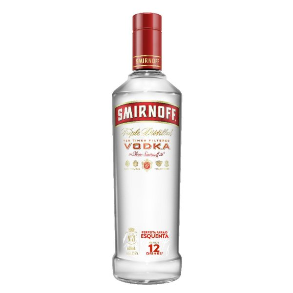 SMIRNOFF VODKA 600ML