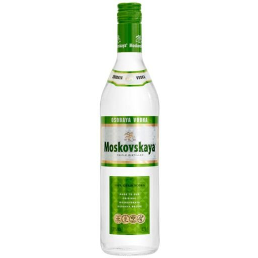 MOSKOVSKAYA VODKA LETONIA 750ML