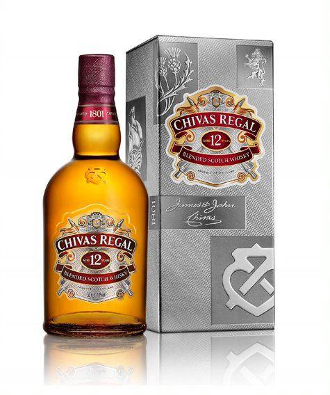 Chivas Regal Whisky 12 anos Escocês 750ml