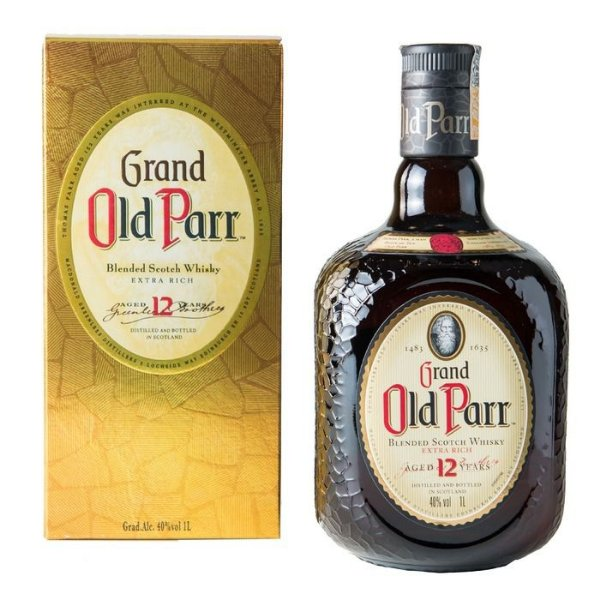 OLD PARR 12 ANOS 1000ML