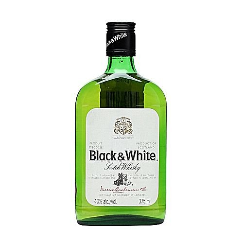 BLACK & WHITE 375ML