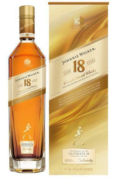 JOHNNIE WALKER 18 ANOS 750ML