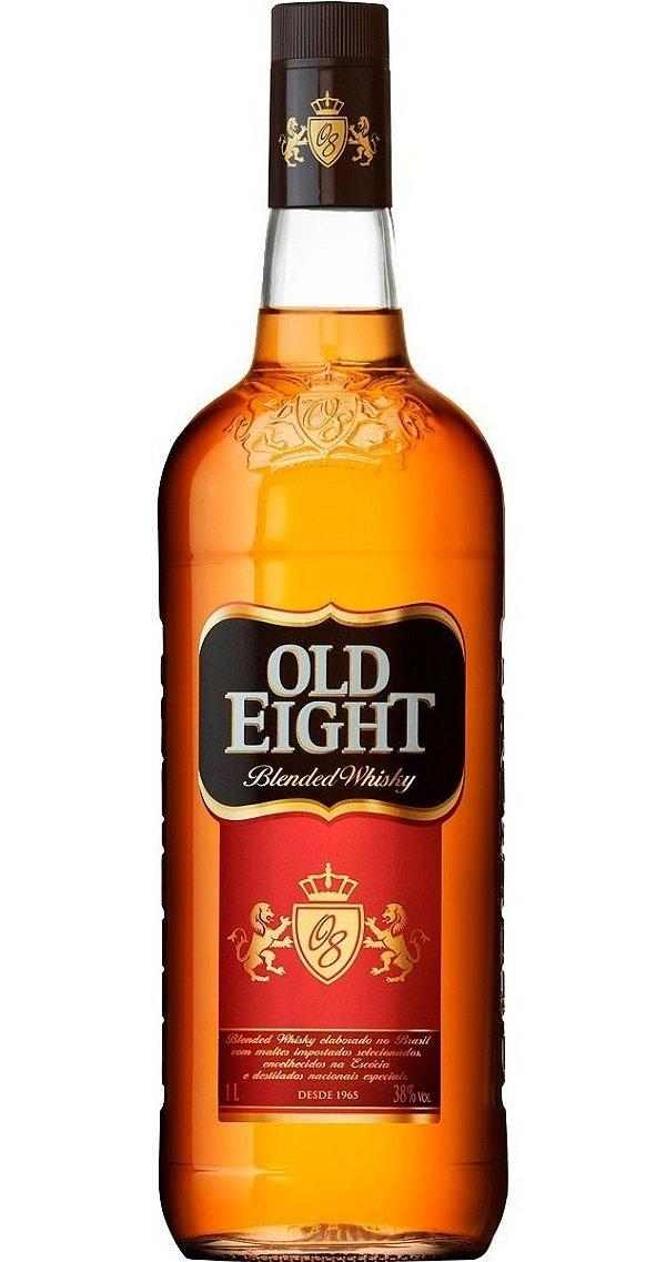 OLD EIGHT WHISKY NACIONAL 1000ML