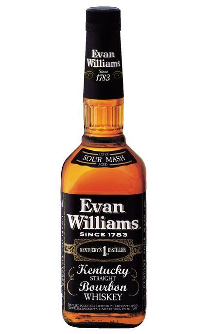 EVAN WILLIANS BLACK LABEL WHISKEY BOURBON AMERICANO 1000ML
