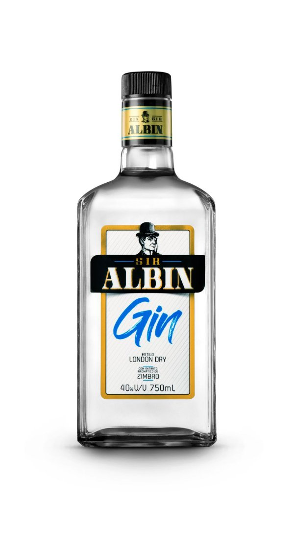 SIR ALBIN GIN NACIONAL 750ML