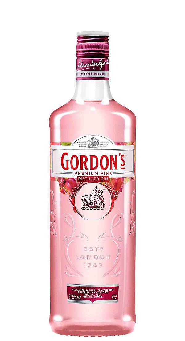 GORDONS PINK GIN INGLES 700ML