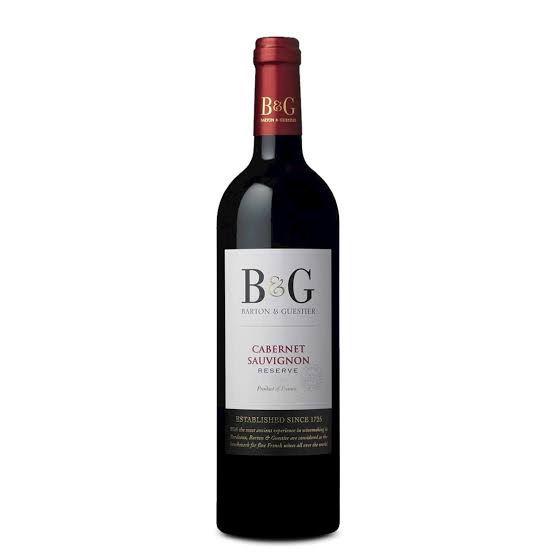 B&G RESERVE CABERNET SAUVIGNON VINHO FRANCES 750ML